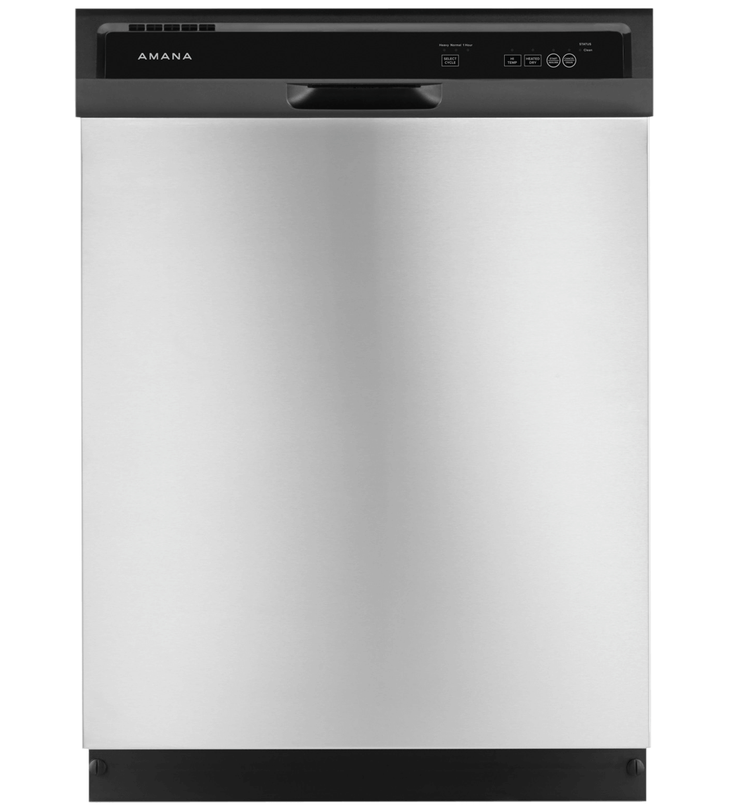 Amana Dishwasher 24 ADB1400AG showcased by Corbeil Electro Store