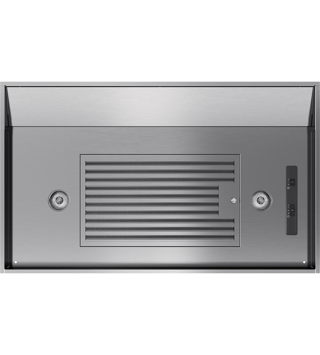 Zephyr Ventilation accessory 34inch in Stainless Steel color showcased by Corbeil Electro Store