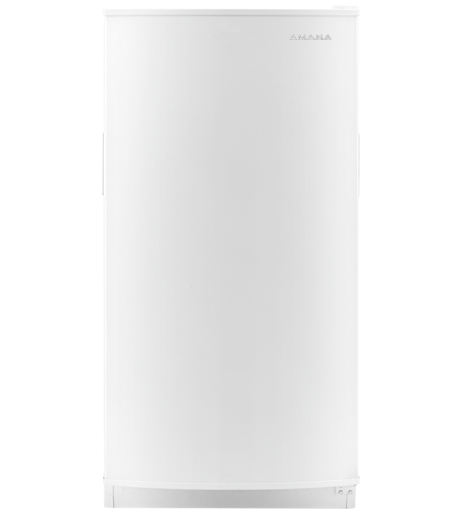 Amana Freezer 31 White AZF33X16DW in White color showcased by Corbeil Electro Store