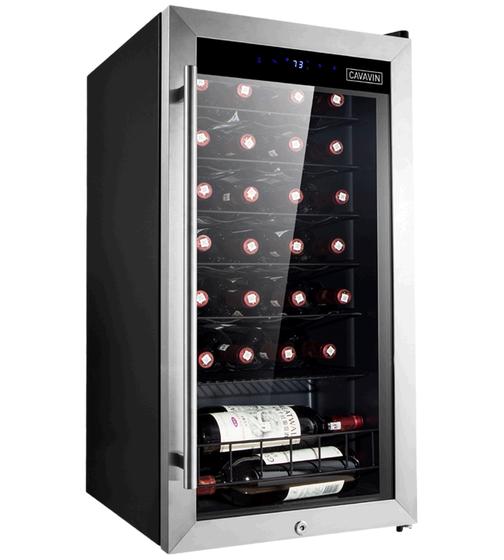 Cavavin Cellier a vin 19 Acier Inoxydable B-028WSZ