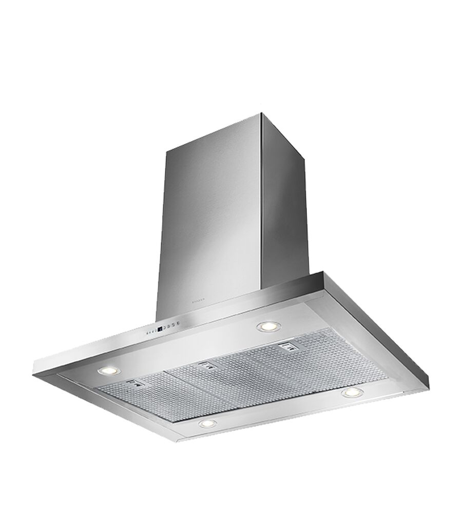 Faber Rangehood 42inch in Stainless Steel color showcased by Corbeil Electro Store