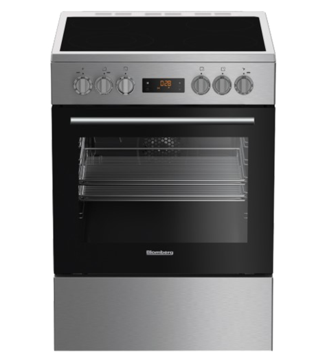 Blomberg Range 24inch in Stainless Steel color showcased by Corbeil Electro Store