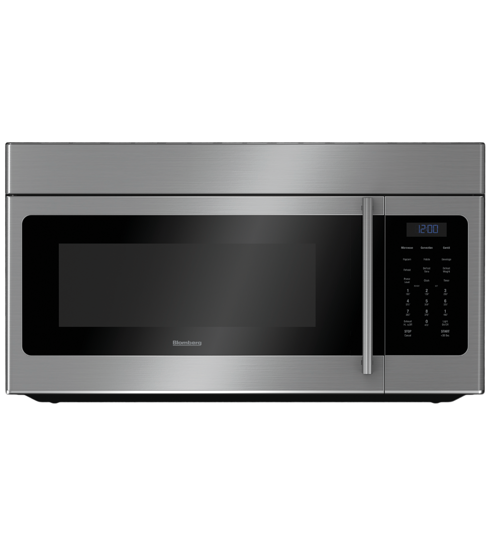 Blomberg Microwave 30inch in Stainless Steel color showcased by Corbeil Electro Store