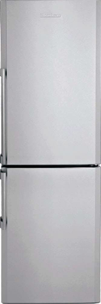 Blomberg Fridge 24inch in Stainless Steel color showcased by Corbeil Electro Store