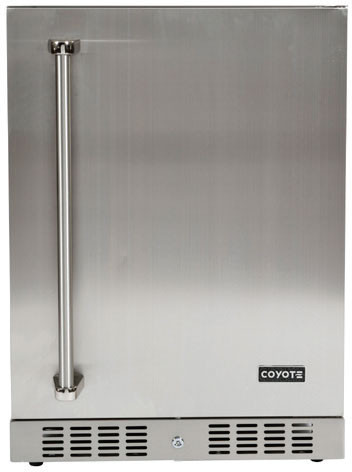 Coyote Outdoor accessory 24inch in Stainless Steel color showcased by Corbeil Electro Store