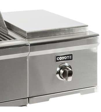Coyote Brûleur pour barbecue C1CSBLP