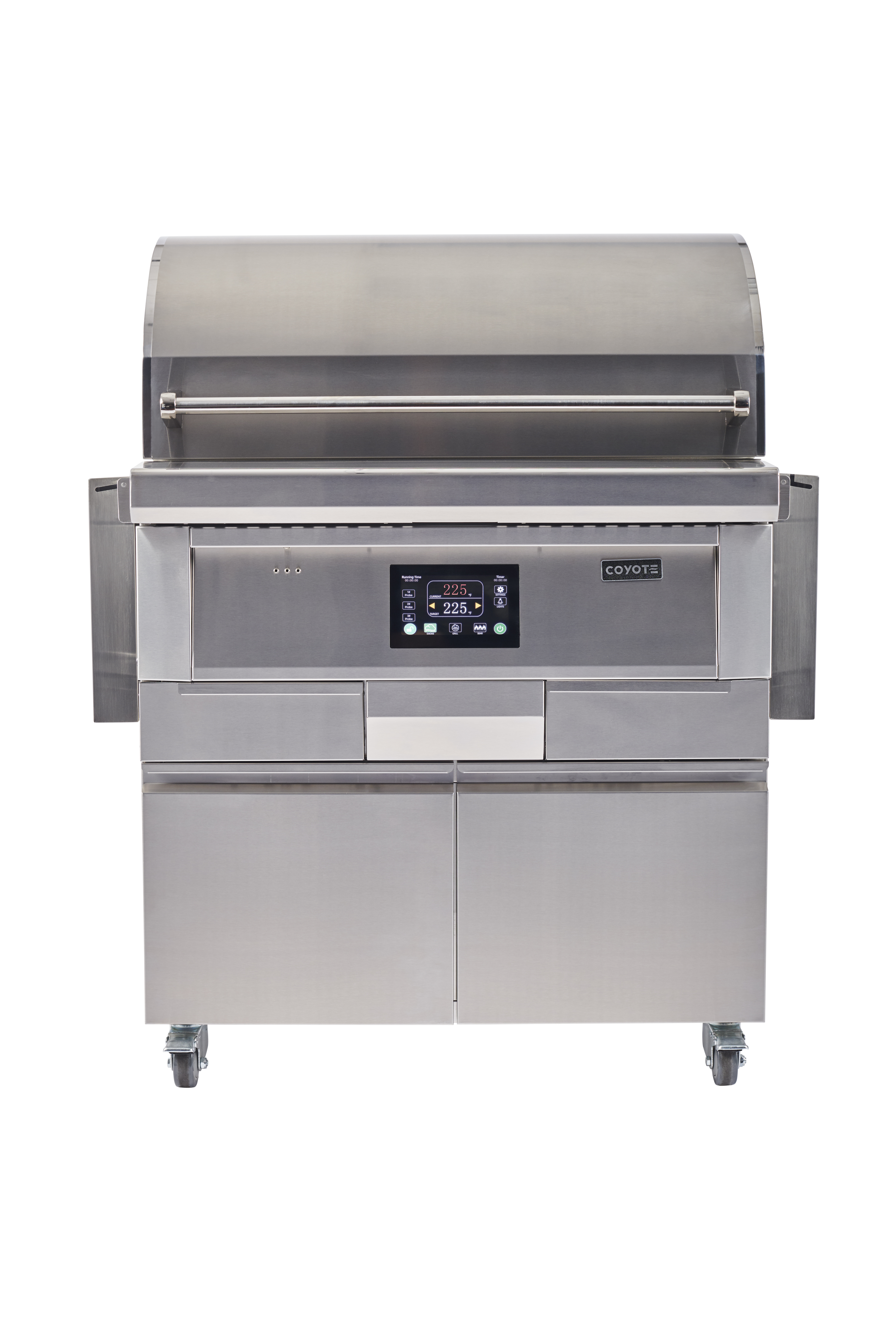 Coyote BBQ C1P36-FS in Stainless Steel color showcased by Corbeil Electro Store
