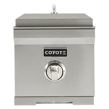 Coyote Outdoor accessory in Stainless Steel color showcased by Corbeil Electro Store