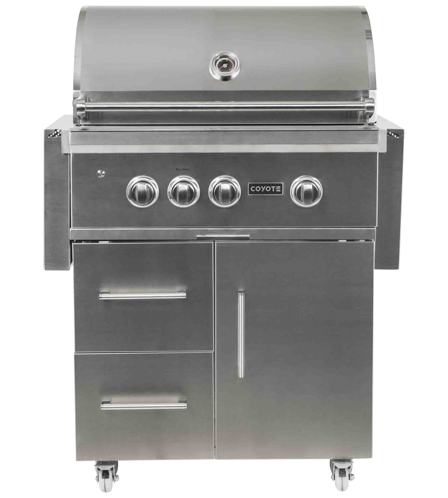 Coyote BBQ 58 StainlessSteel C2SL30NG-FS