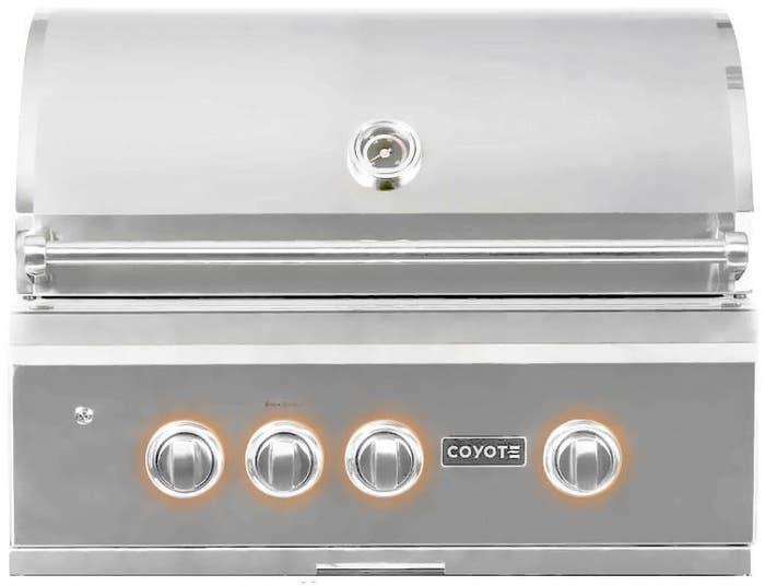 Coyote BBQ 30po en couleur Acier Inoxydable présenté par Corbeil Electro Store