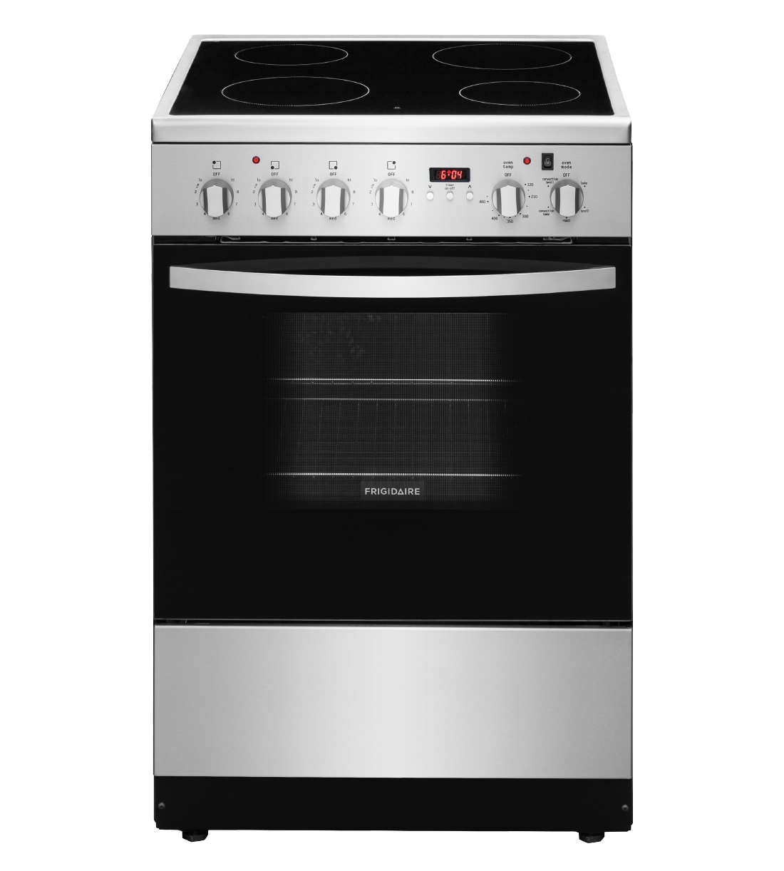 Frigidaire Range in Stainless Steel color showcased by Corbeil Electro Store