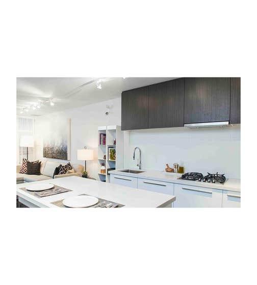 Faber Hotte de cuisinière en couleur Acier Inoxydable présenté par Corbeil Electro Store