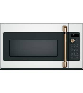 GE Café Microwave CVM517P4MW2