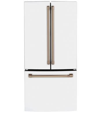 GE CAFE FrenchDoor Réfrigérateur en couleur Blanc présenté par Corbeil Electro Store