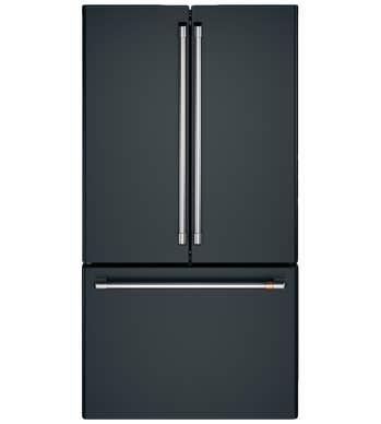 GE CAFE FrenchDoor Réfrigérateur en couleur Noir présenté par Corbeil Electro Store
