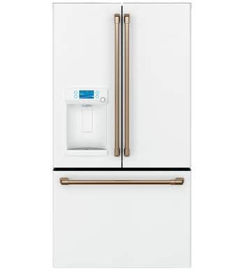 GE réfrigérateur en couleur Blanc présenté par Corbeil Electro Store