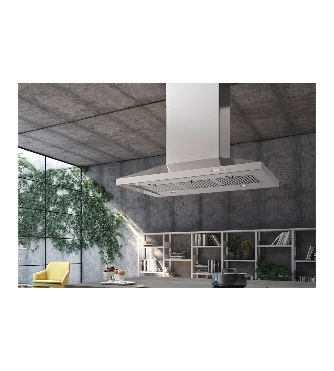Faber Rangehood Stainless Steel DAMAIS42SSV