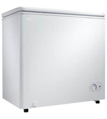 Danby Congelateur 33 DCF055A2 en couleur Blanc présenté par Corbeil Electro Store