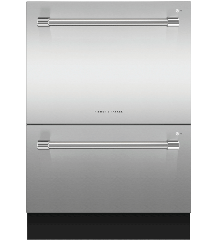 Fisher & Paykel Dishwasher in Stainless Steel color showcased by Corbeil Electro Store