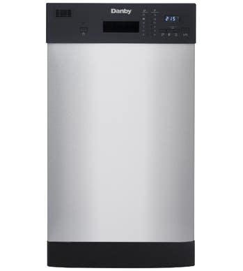 Danby Lave-vaisselle 18 DDW1804E en couleur Acier Inoxydable présenté par Corbeil Electro Store
