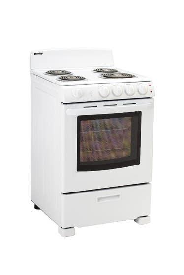 Danby Cuisiniere 24 Blanc DER244WC en couleur Blanc présenté par Corbeil Electro Store