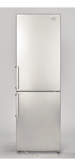Ellipse Réfrigerateur 24 Blanc en couleur Acier Inoxydable présenté par Corbeil Electro Store