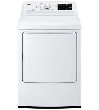 LG Dryer 27 White DLE7100W