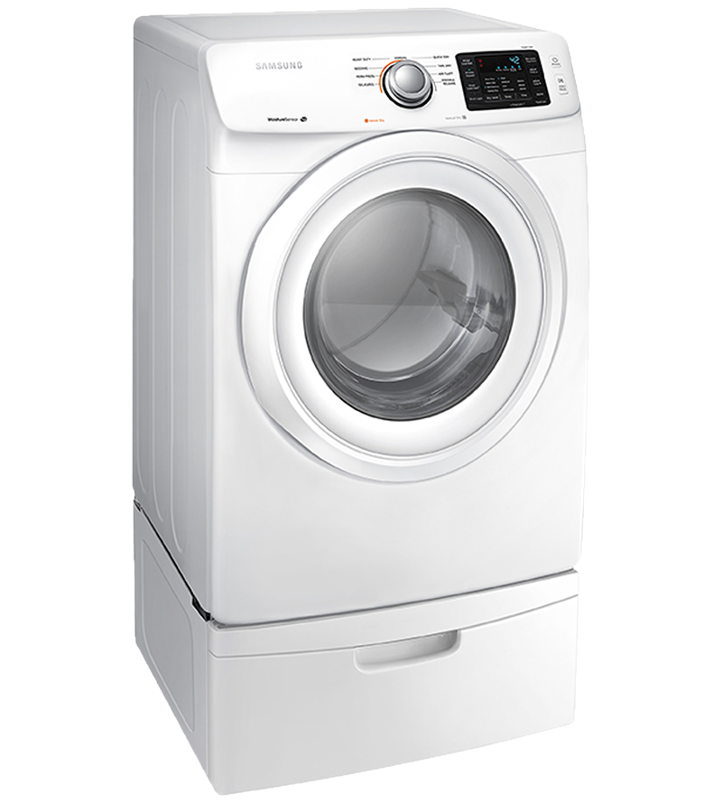 Samsung Dryer 27 White DV42H5000EW