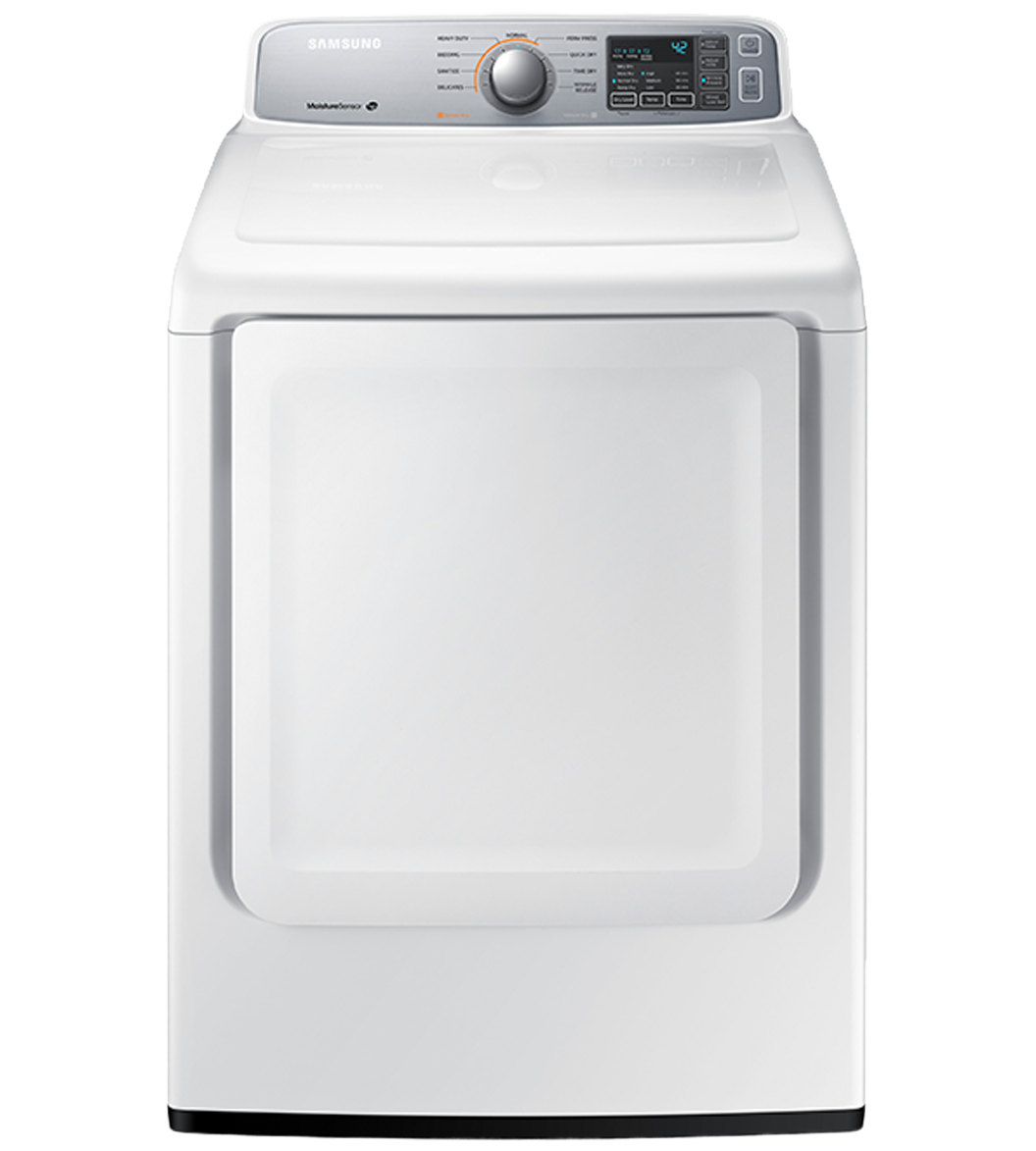 Samsung Dryer 27 White DV45H7000EW