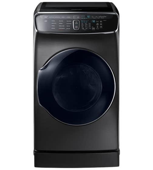 Sécheuse Samsung en couleur Acier Inoxydable Noir présenté par Corbeil Electro Store