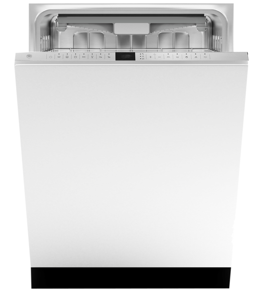 Bertazzoni Dishwasher 24inch in Pannel-Ready color showcased by Corbeil Electro Store