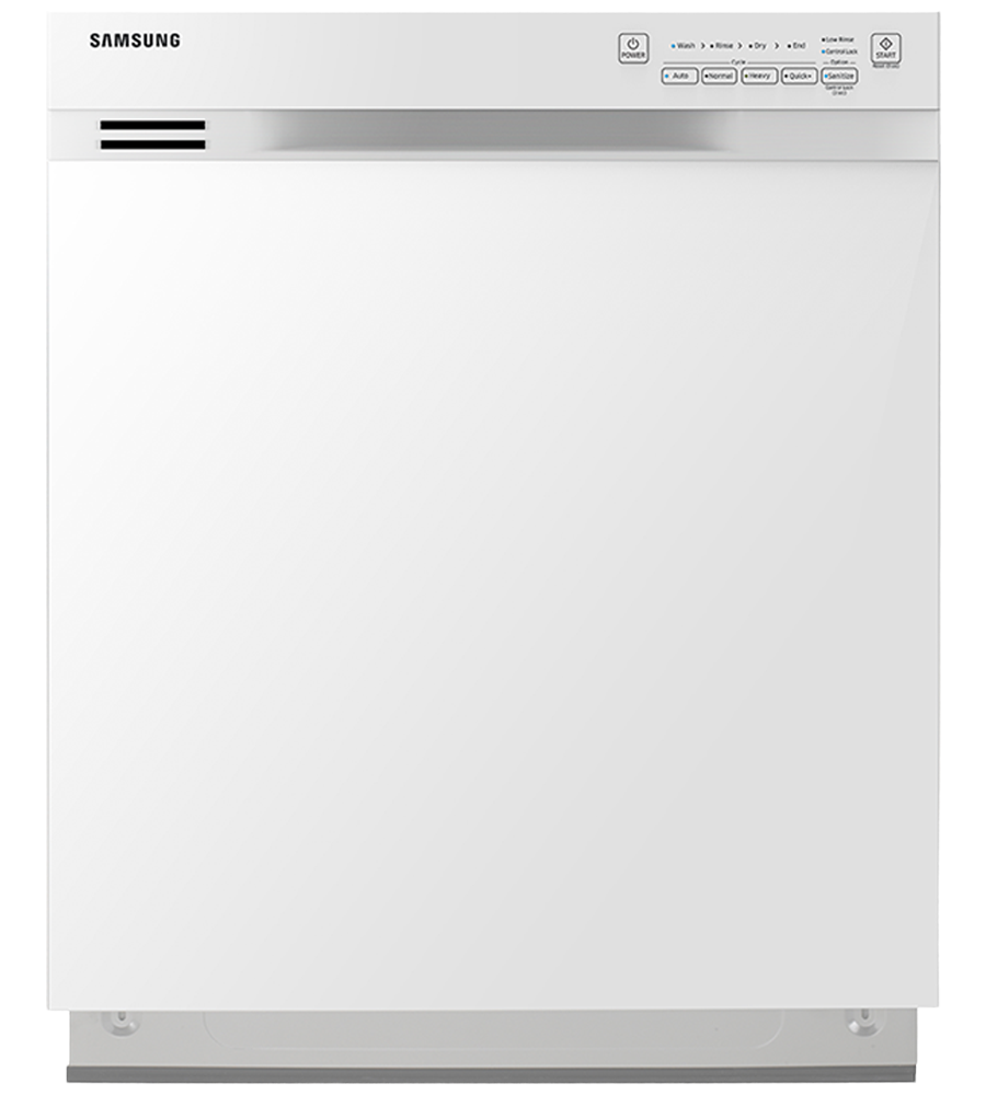 Samsung Dishwasher in White color showcased by Corbeil Electro Store