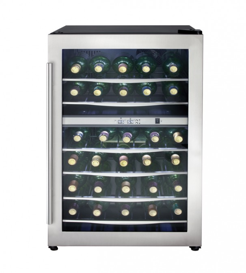Danby Cellier a vin 20 Acier Inoxydable DWC040A3BSSDD en couleur Acier Inoxydable présenté par Corbeil Electro Store