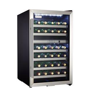 Danby Cellier a vin 20 Acier Inoxydable DWC114BLSDD en couleur Acier Inoxydable présenté par Corbeil Electro Store