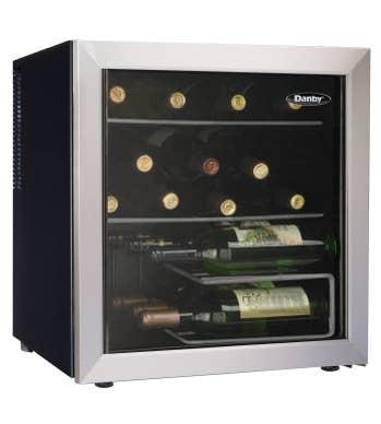 Danby Cellier a vin 18 Platine DWC172BLPDB en couleur Platine présenté par Corbeil Electro Store