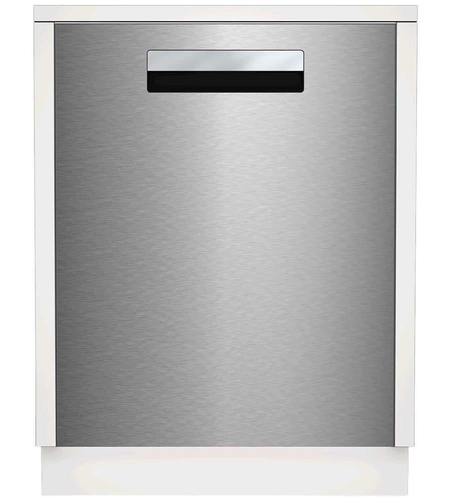 Blomberg Dishwasher 24inch in Stainless Steel color showcased by Corbeil Electro Store