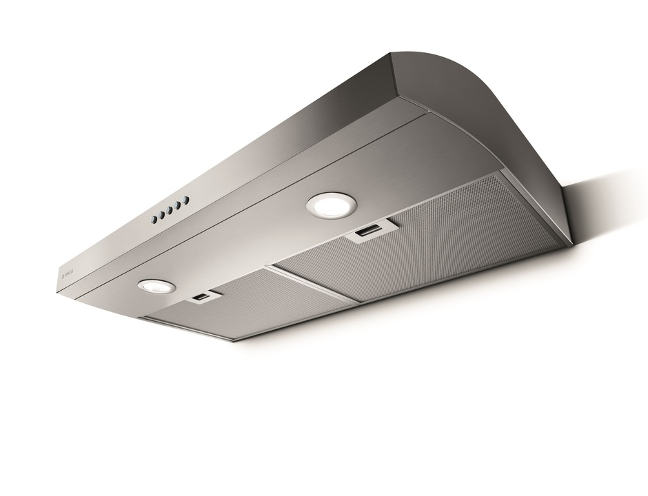Elica Range hood 30 StainlessSteel EAL330S1 in Stainless Steel color showcased by Corbeil Electro Store