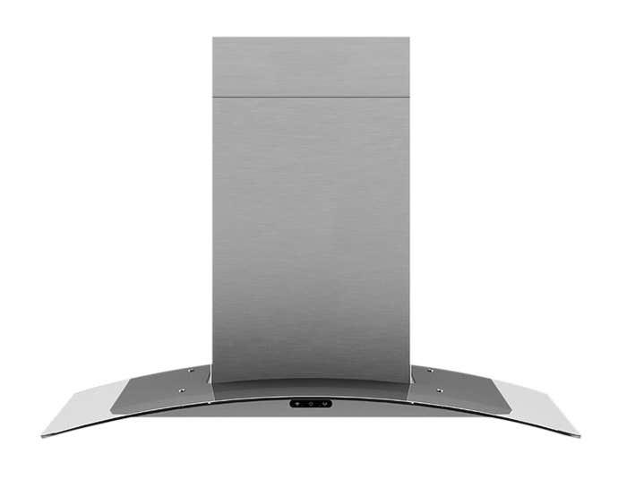 Broan Range Hood 36 StainlessSteel EW4636SS in Stainless Steel color showcased by Corbeil Electro Store