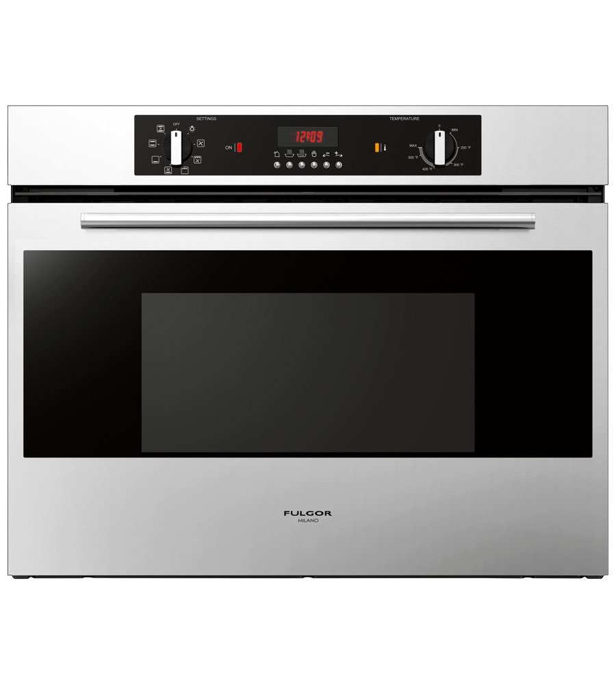 FULGOR Oven in Stainless Steel color showcased by Corbeil Electro Store