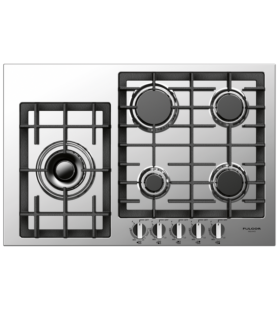 FULGOR Range 30inch in Stainless Steel color showcased by Corbeil Electro Store