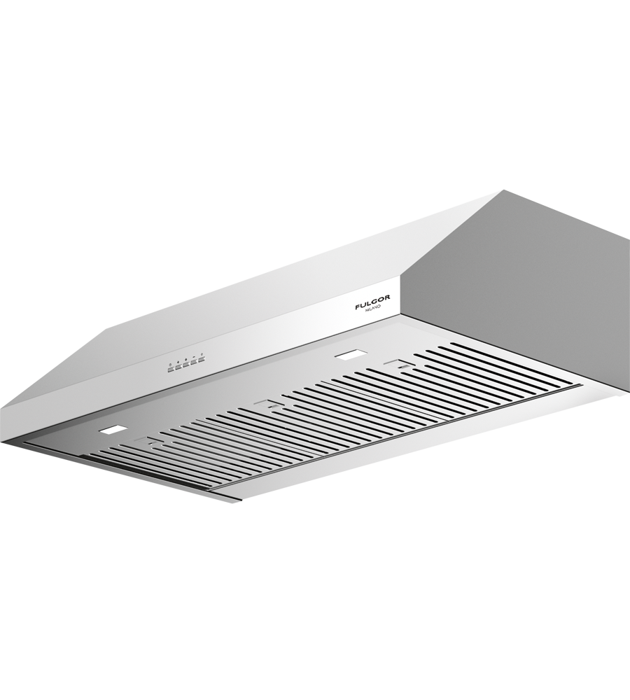 FULGOR Rangehood 36inch in Stainless Steel color showcased by Corbeil Electro Store