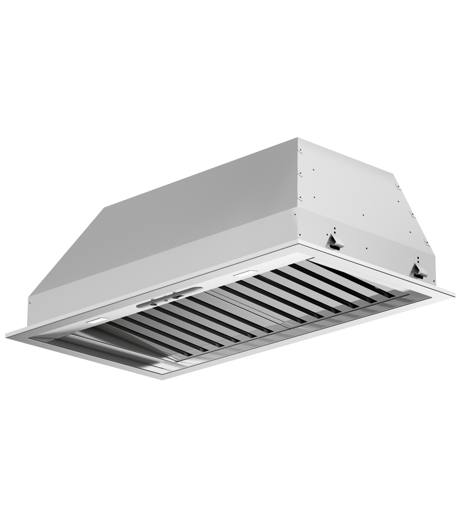 FULGOR Rangehood 34inch in Stainless Steel color showcased by Corbeil Electro Store