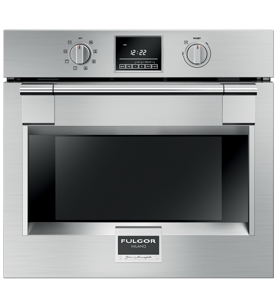 FULGOR Oven 30inch in Pannel-Ready color showcased by Corbeil Electro Store