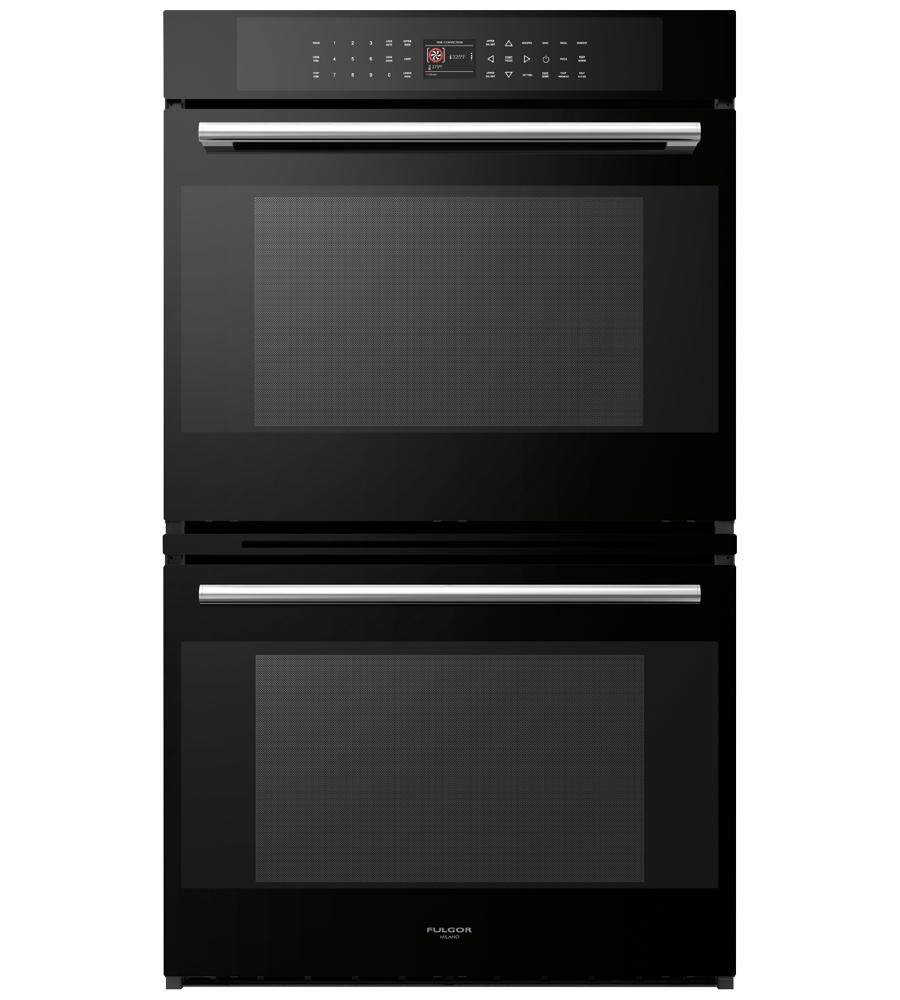 FULGOR Oven 30inch in Black color showcased by Corbeil Electro Store