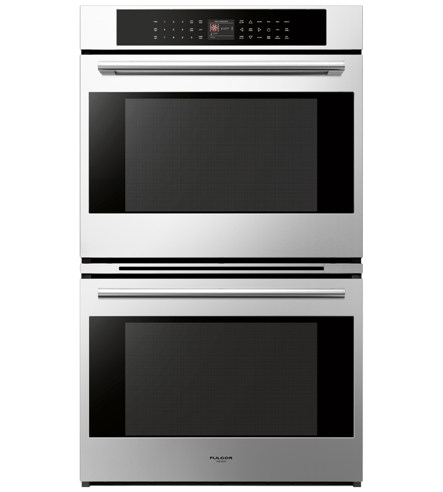 FULGOR Oven 27inch in Stainless Steel color showcased by Corbeil Electro Store