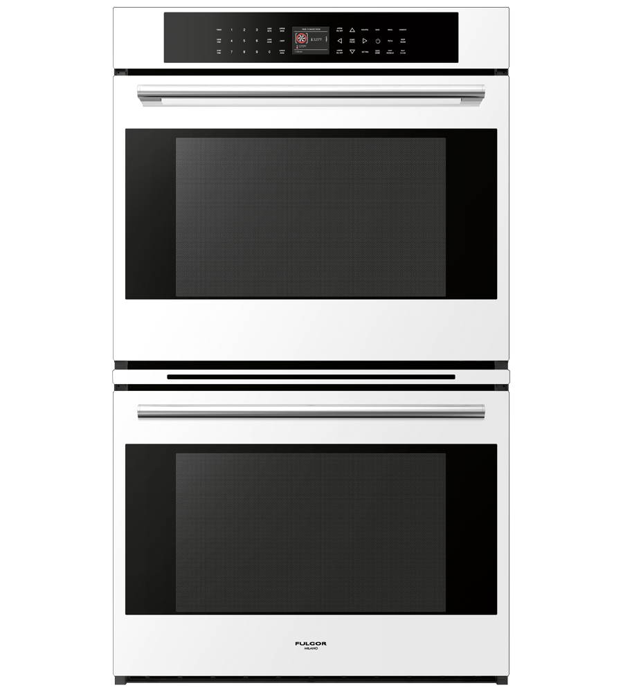 FULGOR Oven 30inch in White color showcased by Corbeil Electro Store