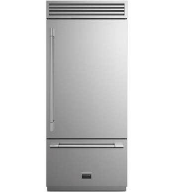 FULGOR Réfrigérateur 36po en couleur Acier Inoxydable présenté par Corbeil Electro Store