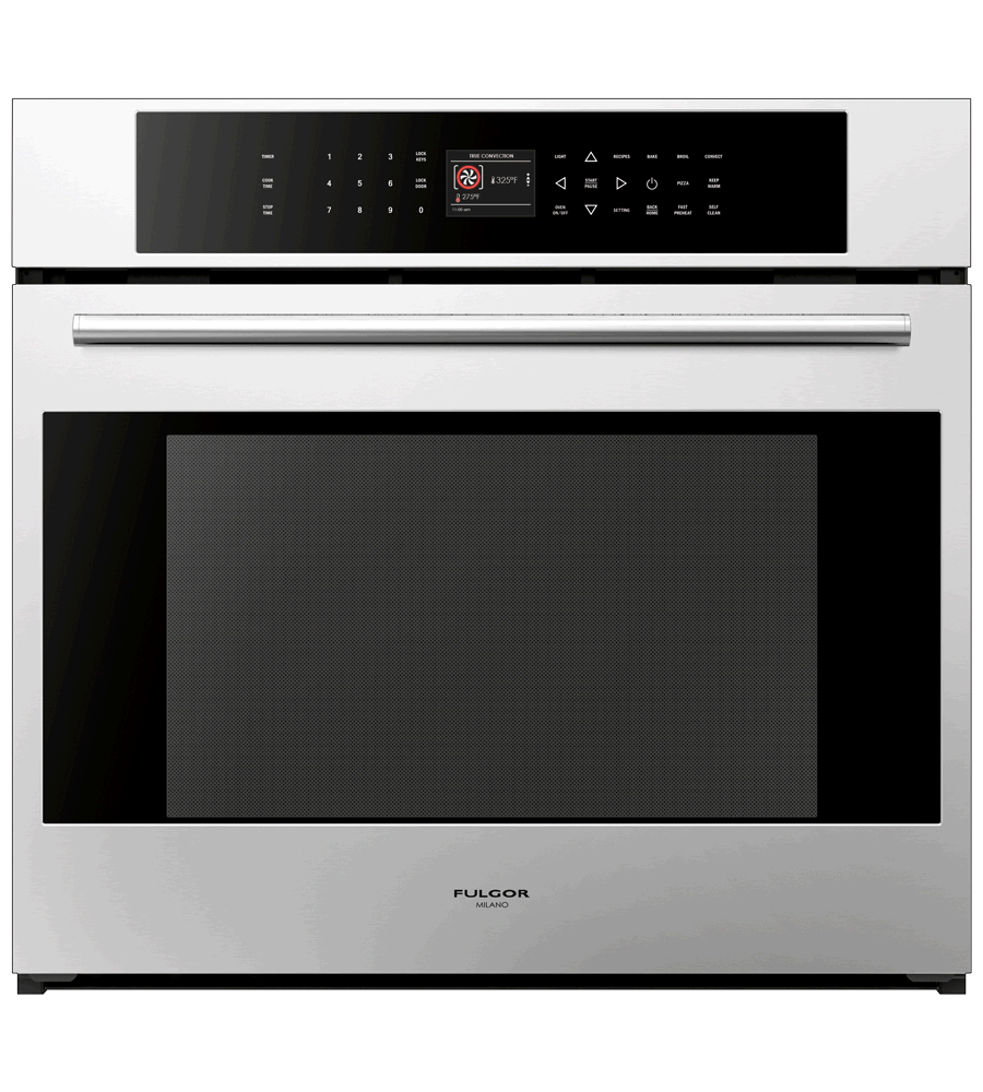 FULGOR Oven 30inch in Stainless Steel color showcased by Corbeil Electro Store