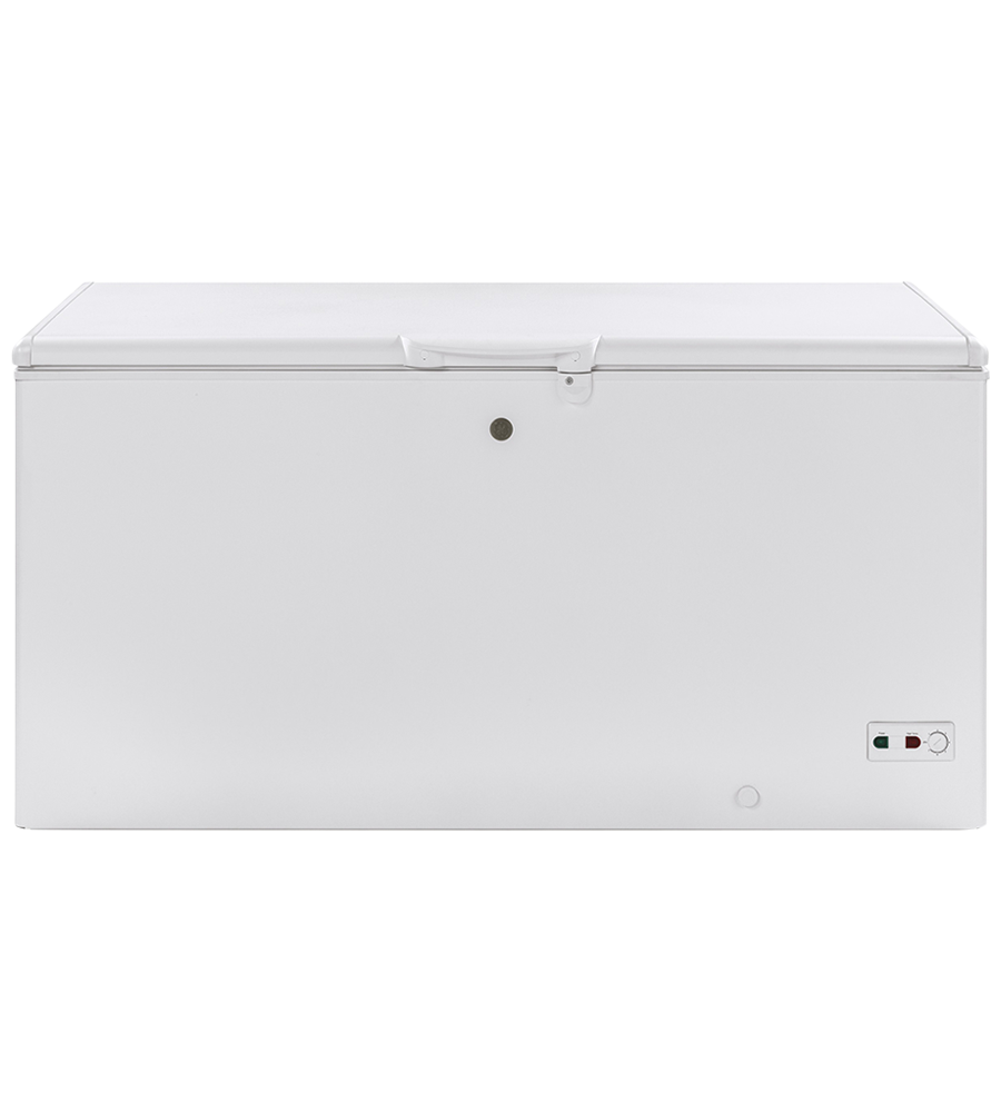 GE freezer in White color showcased by Corbeil Electro Store