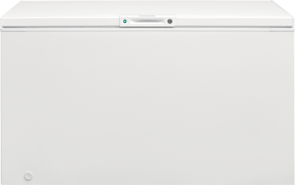 Frigidaire Freezer in White color showcased by Corbeil Electro Store